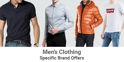 men's clothing specific brands