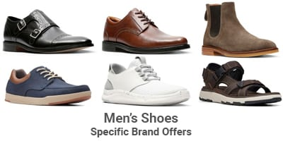 men's shoes specific brands
