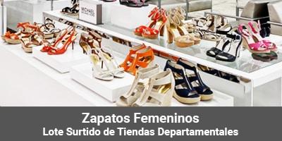 lotes zapatos femeninos