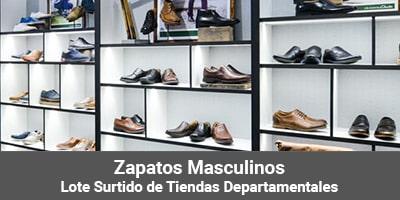lotes zapatos masculinos