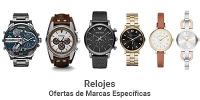 marcas especificas relojes