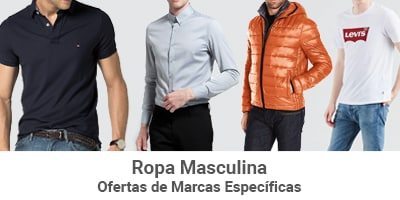 marcas especificas ropa masculina